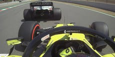 F1-Rüpel Magnussen zwingt Ocon zu Wand-Crash