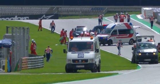 Moto2 Unfall Video