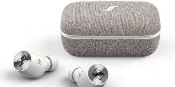 Sennheiser Momentum sind die besten Ohrhörer.
