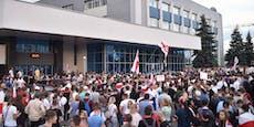 Belarus: Staats-TV droht mit objektiven Nachrichten