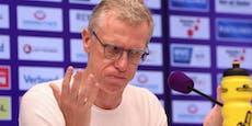 Das sagt Coach Peter Stöger zur 2:11-Pleite der Austria