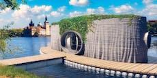 Erstes 3D-Drucker-Haus aus Tschechien kann schwimmen