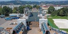 Hier entsteht die neue Linzer Eisenbahnbrücke