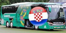 Was bedeutet die Kroatien-Reisewarnung für Rapid?