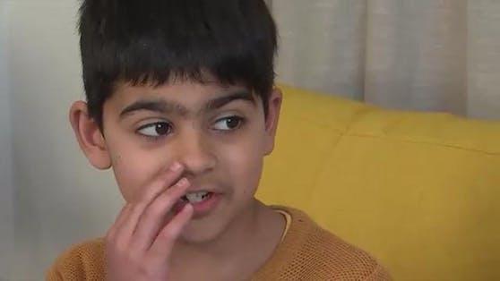 Sameer Anwar lebte mit Lego in der Nase.
