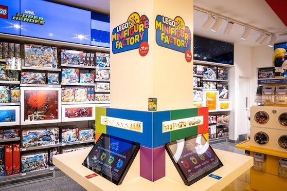 Eröffnung des neuen LEGO Stores in Düsseldorf.