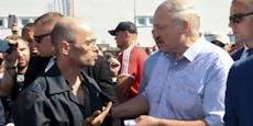 """""""Hau ab!""""– Arbeiter buhen Lukaschenko aus"""