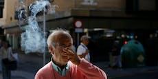 Spanien: Rauchverbot im Freien, wenn zu wenig Abstand