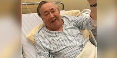 Richard Lugner schwer verletzt im Spital