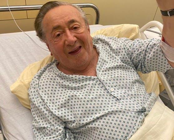 Richard Lugner im Spital