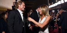 Aniston und Pitt wieder vor der Kamera vereint