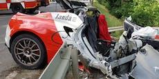 """Beifahrer (32) bei Crash mit """"Lauda""""-Sportwagen getötet"""
