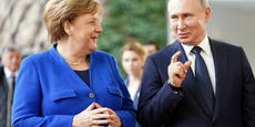 Merkel telefonierte mit Putin zu Weißrussland