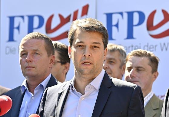 Vizebürgermeister Dominik Nepp führt die FPÖ Wien in die Wahl 2020.