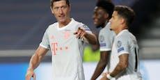 So viele Tore fehlen Lewandowski auf Ronaldo-Rekord