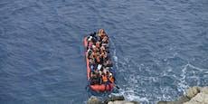 Griechenland setzte 1.072 Flüchtlinge auf Meer aus