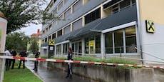 Banküberfall in Graz: Bewaffnete Täter auf der Flucht