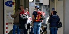21.500 Menschen verloren in letzter Adventwoche den Job