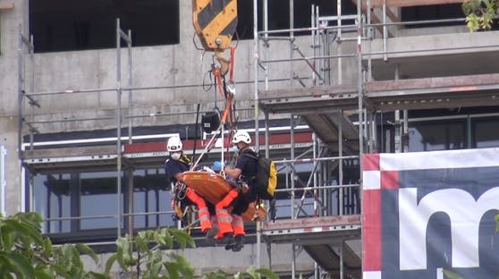 Rettungseinsatz in Wien-Leopoldstadt