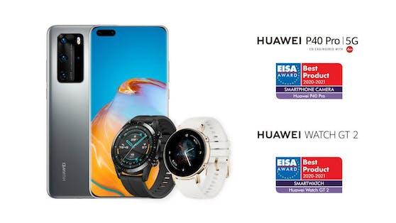 Huawei gewinnt zwei EISA-Auszeichnungen.