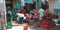 Philippinen: Starkes Erdbeben erschüttert Insel