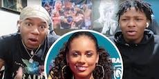 Teens reden auf YouTube über Alicia Keys, sie antwortet