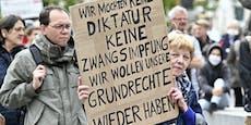 Anti-Corona-Demos in Wien - Großdemo im Oktober
