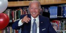 """Joe Biden: Nominierung """"bedeutet die Welt für mich"""""""