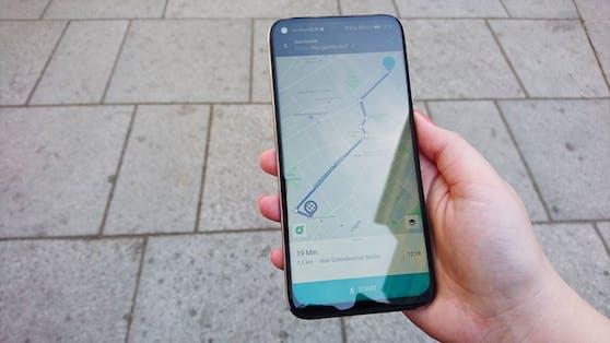 """Mit """"HERE WeGo""""-Maps findet ein echter Millennial jede versteckte Oase in der Stadt."""