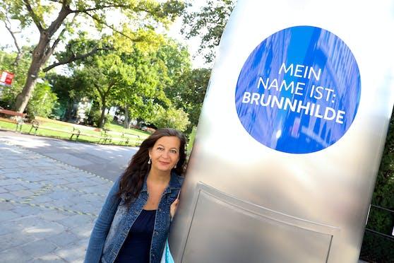 """Cooling in Wien: Ab nun erfrischt """"Brunnhilde"""" mit quellfrischem Wasser."""
