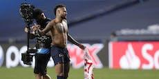Neymar droht Sperre für das Champions-League-Finale!
