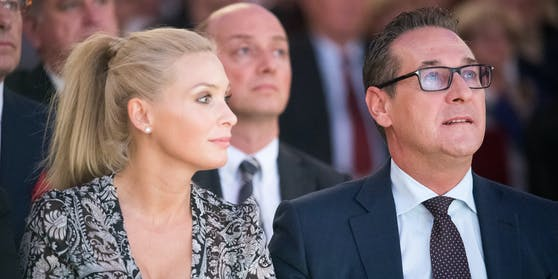 """Philippa und Heinz Christian Strache haben sich für eine vorübergehende """"Auszeit"""" entschlossen."""