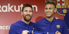 Ist Kumpel Neymar der Lockvogel für den Messi-Transfer?