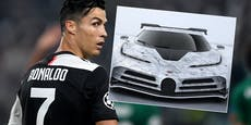 Ronaldo gönnt sich Luxus-Auto um 9,5 Millionen Euro