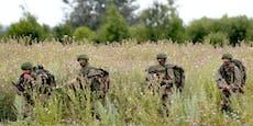 Vier Bundesheer-Soldaten infizierten sich bei Übung