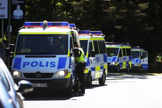 In Schweden wurde eine Jugendliche auf offener Straße erschossen.