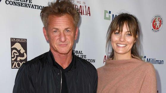 Sean Penn und seine Ehefrau Leila