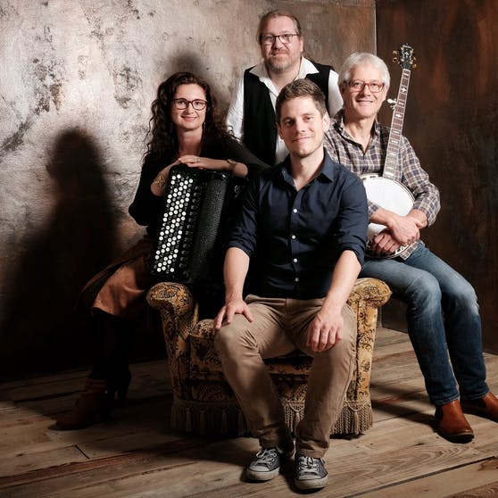 """Die Musiker von """"Medley"""" feiern 40-jähriges Bandjubiläum."""