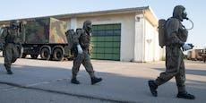 Grundwehrdiener in Korneuburg positiv getestet