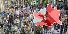 Enthüllt! Die Corona-Fälle in Wien pro Bezirk