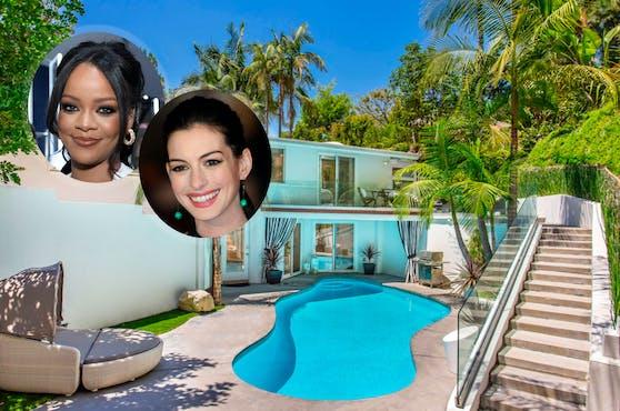 Dieses Haus in Beverly Hills mieteten bereits Stars wie Rihanna oder Anne Hathaway.
