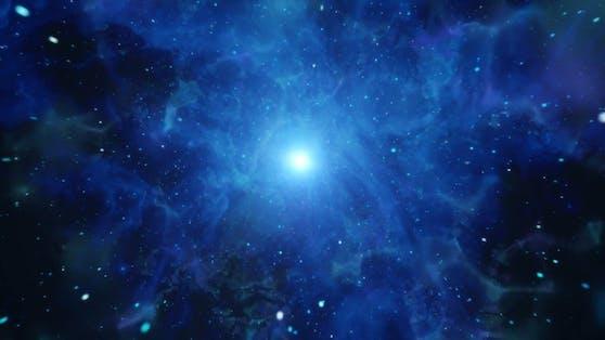 Der schnellste jemals entdeckte Stern in unserer Milchstraße bewegt sich mit 24.000 km/s ums Schwarze Loch.