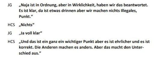 JG (Johann Gudenus) und HCS (Heinz-Christian Strache) im Gespräch