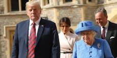 Skandal Royal! Diese Stars brachen die Queen-Etikette