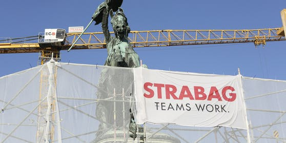 Strabag (Straßenbau Aktiengesellschaft) Symbolbild