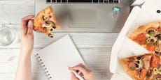 Diese 5 Fehler beim Mittagessen machen alle