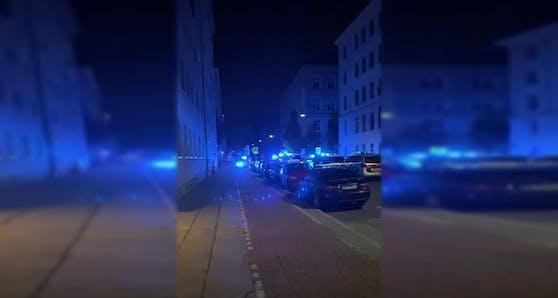 Großer Polizeieinsatz in Wien-Brigittenau