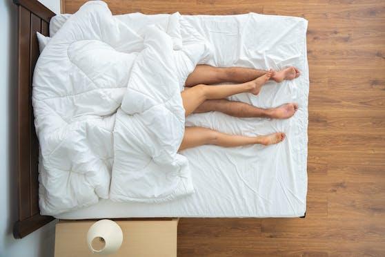 Wöchentlich erhalten fünf Paare eine Matratze zugesendet, die sie nach Kriterien wie Intimität bewerten sollen.