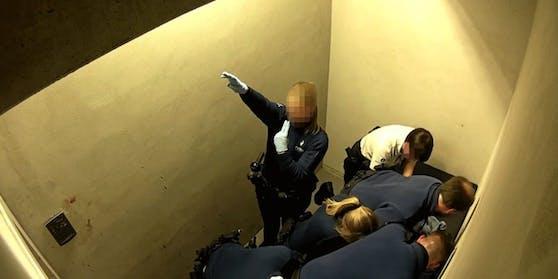 Ein Standbild aus dem Video der Überwachungskamera.