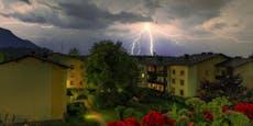 Gewitter von Vorarlberg bis NÖ beenden Sommerwetter